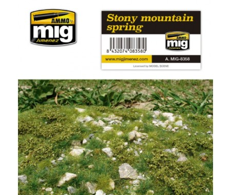 MIG - A.MIG-8358 - Stony Mountain Spring  - Hobby Sector