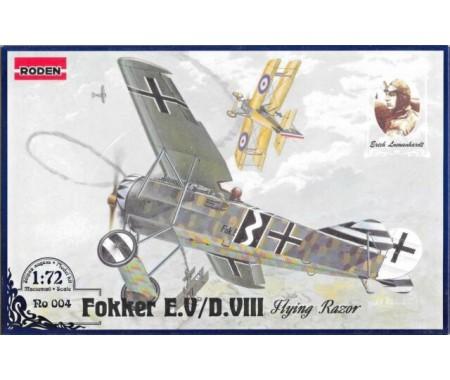 Roden - 004 - Fokker E.V/D.VIII Flying Razor  - Hobby Sector