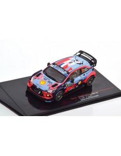 IXO - RAM744 - Hyundai i20 Coupe WRC S. Loeb Rallye Monte Carlo 2020  - Hobby Sector