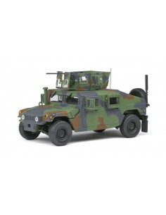 Solido - S4800101 - M1115 Humvee Green Camo  - Hobby Sector