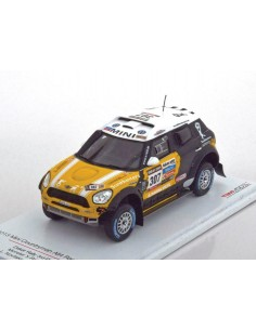 TSM - TrueScale Miniatures - TSM144344 - Mini Countryman All4 Racing Dakar Rally Monster X-Raid Team  - Hobby Sector