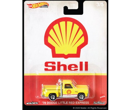 Hotwheels - hwmvDLB45-946H-3 - Dodge Little Red Express 1978 - Vintage Oil 3/5  - Hobby Sector