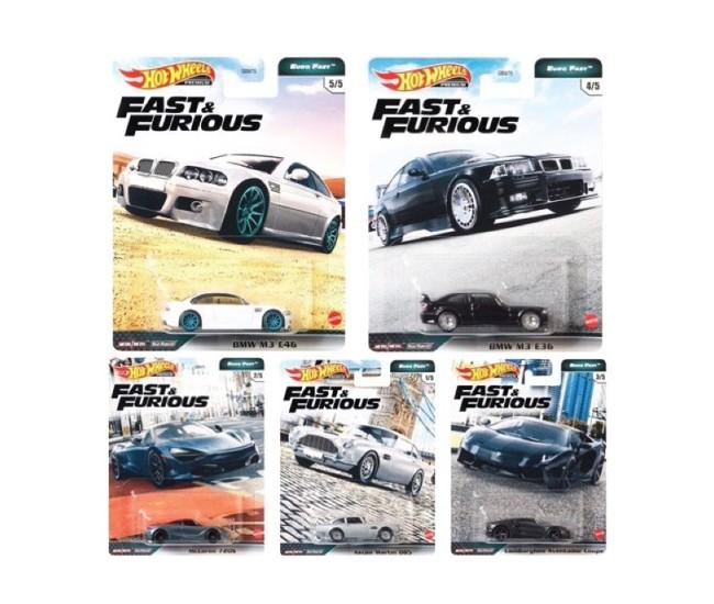 Hotwheels - hwmvGBW75-979K-4 - BMW M3 E36 - Fast and Furious Euro Fast 4/5  - Hobby Sector