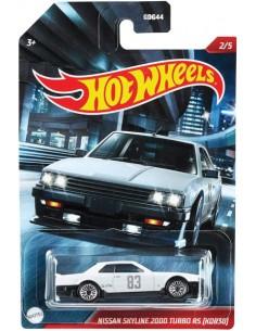 Hotwheels - hwmvGDG44-956P-2 - Nissan Skyline 2000 Turbo RS KDR30  - Hobby Sector