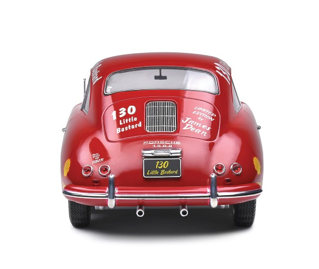 Solido - S1802804 - Porsche 356 Pré-A James Dean Tribute 1953  - Hobby Sector