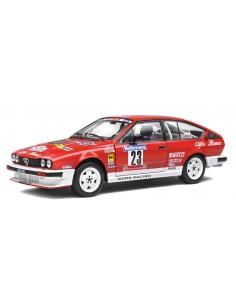 Solido - S1802306 - Alfa Romeo GTV6 Yves Loubet Tour de Corse 1985  - Hobby Sector