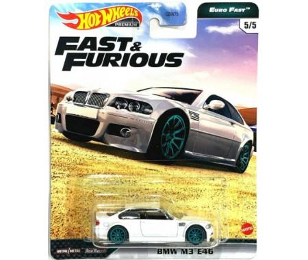 Hotwheels - hwmvGBW75-979K-5 - BMW M3 E46 - Fast and Furious Euro Fast 5/5  - Hobby Sector