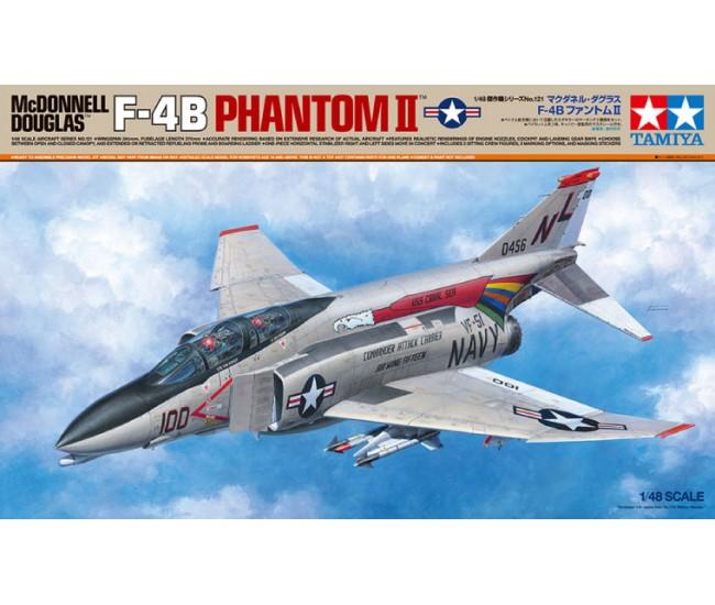 Tamiya - 61121 - McDonnell Douglas F-4B Phantom II  - Hobby Sector