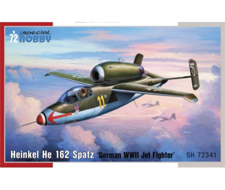 Special Hobby - SH72341 - Heinkel HE 162 Spatz  - Hobby Sector