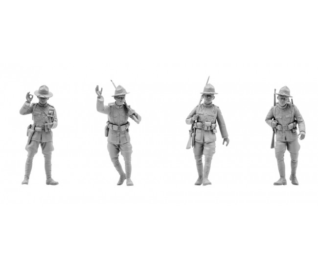 ICM - 35689 - US Infantry 1917  - Hobby Sector