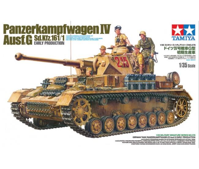 Tamiya - 35378 - Panzerkampfwagen IV Ausf.G  - Hobby Sector