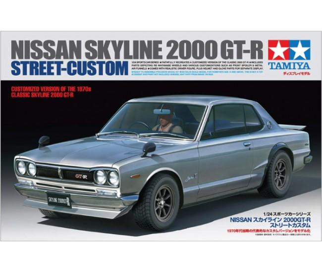 Tamiya - 24335 - Nissan Skyline 2000 GT-R Street Custom  - Hobby Sector