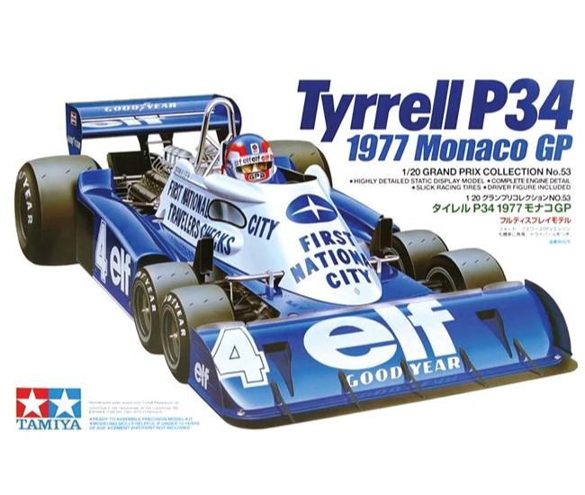 Tamiya - 20053 - Tyrrell P34 1977 Monaco GP  - Hobby Sector