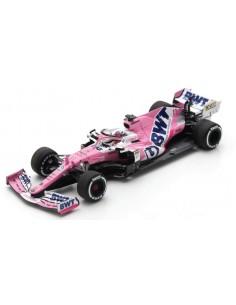 Spark - S6485 - BWT Racing Point RP20 Sergio Pérez Winner Sakhir GP 2020 Wit Pit Board  - Hobby Sector