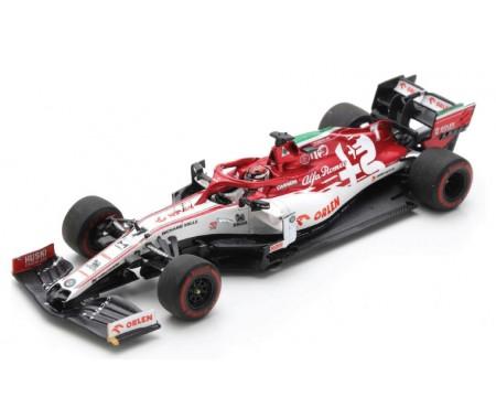 Spark - S6494 - Alfa Romeo Racing ORLEN C39 Kimi Raikkonen Emilia-Romagna GP 2020  - Hobby Sector