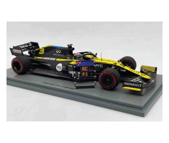 Spark - S6494 - Renault R.S. 20 Daniel Ricciardo Eifel GP 2020  - Hobby Sector