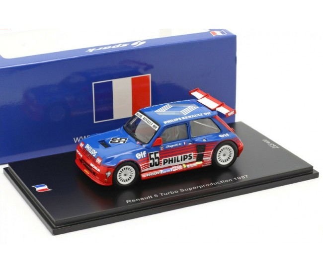 Spark - SF136 - Renault 5 Turbo Superproduction 1987  - Hobby Sector
