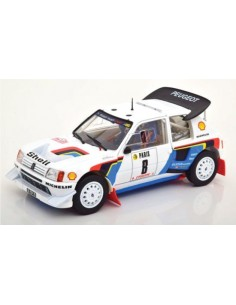 Norev - 184863 - Peugeot 205 T16 EVO 2 Timo Salonen Rallye Monte Carlo 1986  - Hobby Sector