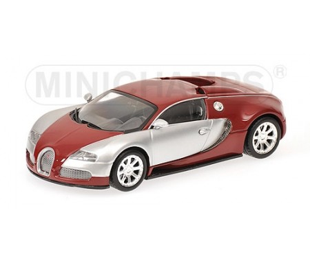 minichamps bugatti veyron edition centenaire 2009 chrome red. Black Bedroom Furniture Sets. Home Design Ideas