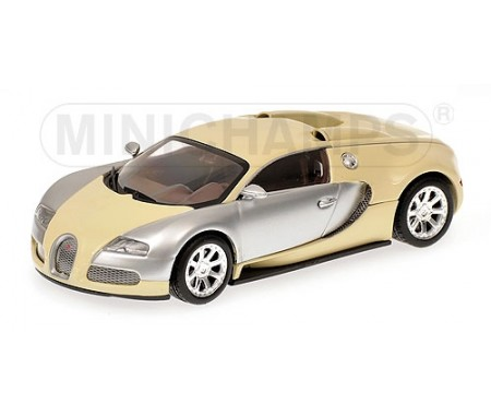 minichamps bugatti veyron edition centenaire 2009 chrome beige. Black Bedroom Furniture Sets. Home Design Ideas