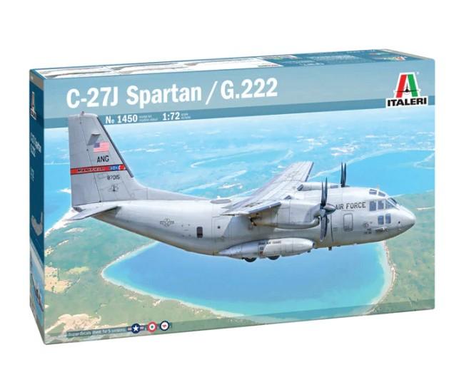 Italeri - 1450 - C-27J Spartan / G.222  - Hobby Sector