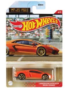 Hotwheels - hwmvGDG44-956R-4 - Lamborghini Aventador Miura Homage  - Hobby Sector
