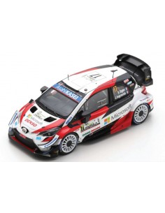 Spark - S6572 - Toyota Yaris WRC Gazoo Racing WRT Sebastien Ogier Winner Rally Monza World Champion 2020  - Hobby Sector