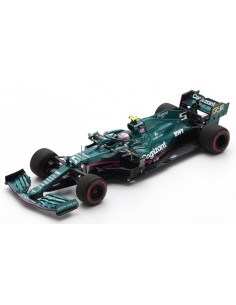 Spark - S7672 - Aston Martin AMR21 Cognizant F1 Team Sebastian Vettel Bahrain GP 2021  - Hobby Sector