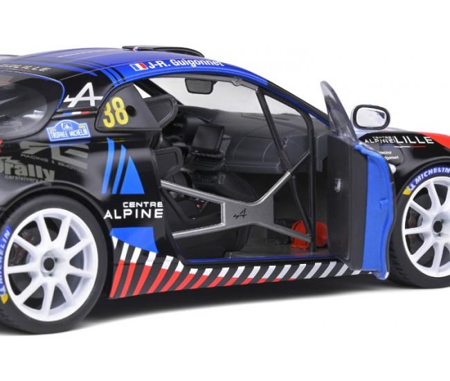 Solido - S1801607 - Alpine A110 R-GT François Delecour Rallye du Mont Blanc 2020  - Hobby Sector