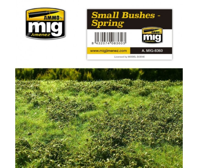 MIG - A.MIG-8360 - SMALL BUSHES - SPRING  - Hobby Sector