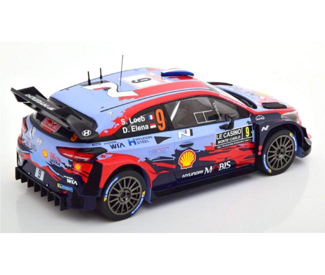 IXO - 18RMC067B - HYUNDAI I20 COUPE WRC SEBASTIEN LOEB RALLYE MONTE CARLO 2020  - Hobby Sector