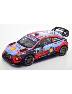IXO - 18RMC067C - HYUNDAI I20 COUPE WRC OTT TANAK RALLYE MONTE CARLO 2020  - Hobby Sector
