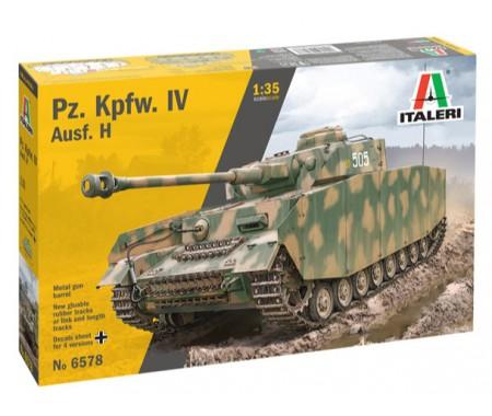Italeri - 6578 - PZ.KPFW.IV AUSF. H  - Hobby Sector
