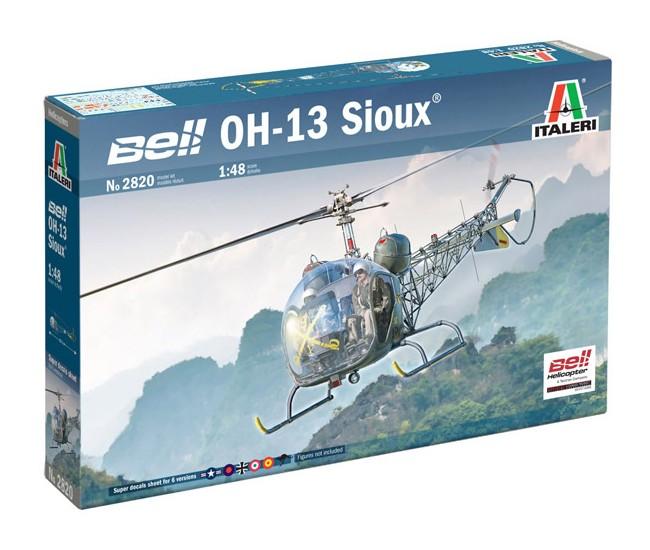 Italeri - 2820 - BELL OH-13 SIOUX  - Hobby Sector