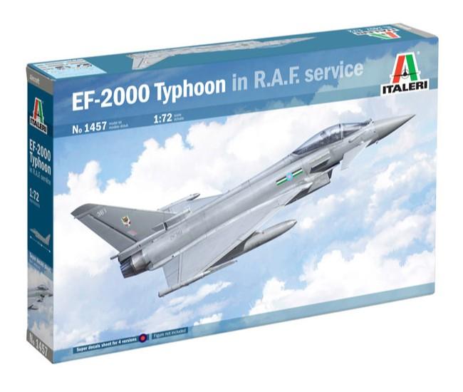 Italeri - 1457 - EF-2000 TYPHOON IN R.A.F. SERVICE  - Hobby Sector