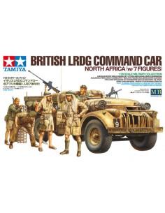 Tamiya - 32407 - BRITISH LRDG COMMAND CAR NORTH AFRICA WITH 7 FIGURES  - Hobby Sector