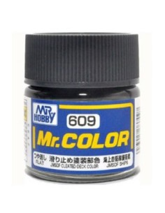 MrHobby (Gunze) - C609 - C609 JMSDF CLEATED DECK COLOR - 10ML LACQUER PAINT  - Hobby Sector