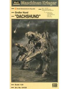 "Tamiya - 64120 - MASCHINEN KRIEGER - GROßER HUND ""DACHSHUND""  - Hobby Sector"