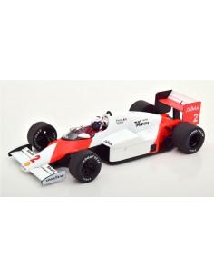 MCG - Model Car Group - MCG18606F - MCLAREN MP4/2B ALAIN PROST WINNER MONACO F1 WORLD CHAMPION 1985  - Hobby Sector