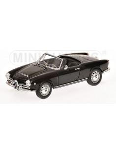 ALFA ROMEO GIULIA SPIDER - 1962 - BLACK