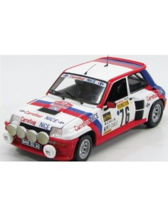 Renault 5 Turbo Carrefour Nr.76 Monte Carlo Rally 1982