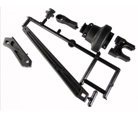 Rear Tension Rod/Diff Cover