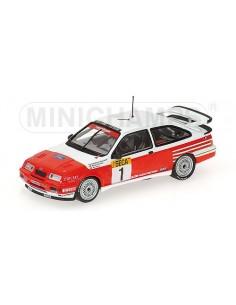 FORD SIERRA RS 500 - BRANCATELLI/SCHNEIDER/PERCY - WINNERS - BASTON RACING TEAM - 24H SPA 1989