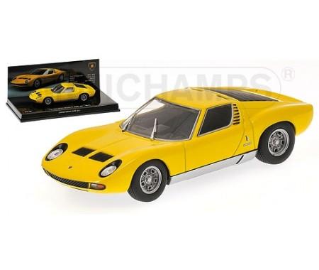 Minichamps Lamborghini Miura Sv 1971 Yellow Museum Series