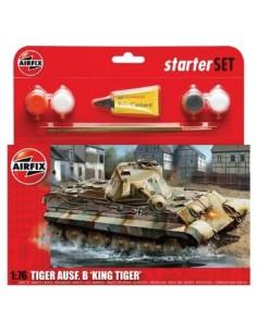 Airfix - PZKW VI Ausf.B King Tiger Tank Starter Set
