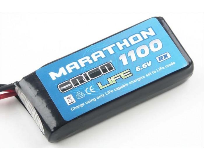 Orion 6.6V 1100 30C LiFe Marathon Standard RX Pack (BEC)