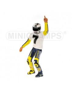 FIGURINE - VALENTINO ROSSI - 7 TIMES WORLD CHAMPION MOTOGP SEPANG - 2005