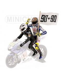 SET FIGURINES - VALENTINO ROSSI/ÁNGEL NIETO - MOTOGP LE MANS - 2008
