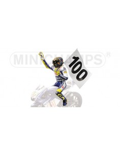 FIGURINE - VALENTINO ROSSI - 100 GP WINS MOTOGP ASSEN - 2009