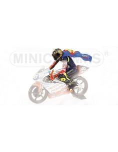 FIGURINE - RIDING - VALENTINO ROSSI - WORLD CHAMPION GP 125 1997
